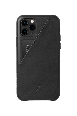 Native Union Clic Card Protective Leather Case for iPhone 11 Pro