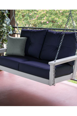 All-Weather Deep Seating Swing