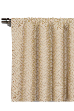 "Eastern Accents Roscoe Rod Pocket Curtain Panel, 96""L"