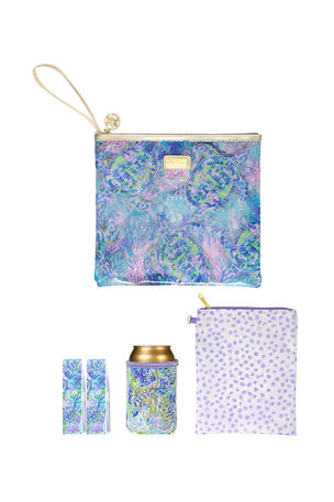 Lilly Pulitzer Beach Day Pouch Set