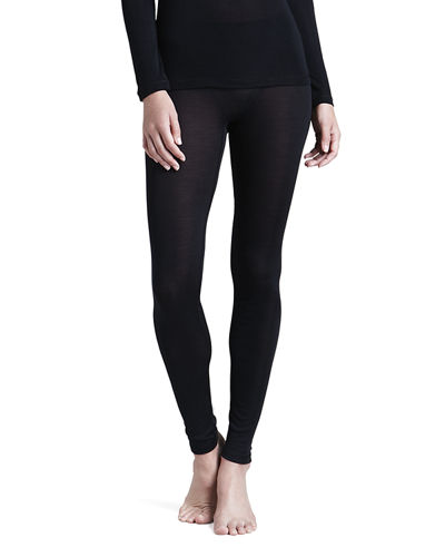Cashmere and Silk Leggings