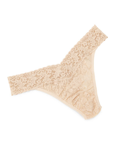 Signature Lace Original-Rise Thong