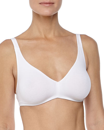 Cotton Sensation Full-Cup Wireless Soft Bra