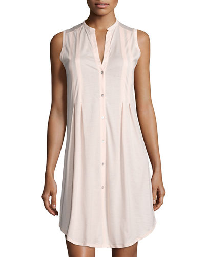 Sleeveless Shirtwaist Nightgown