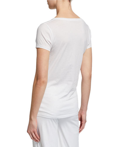 Easy V-Neck Cotton Tee