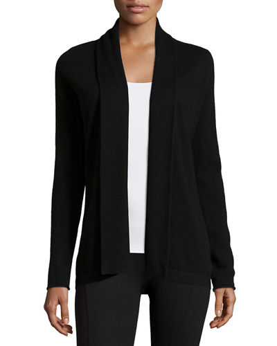 Shawl-Collar Cashmere Cardigan