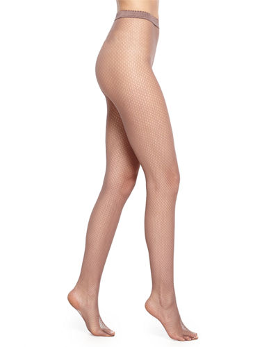 Wolford Netsation Open-Mesh Tights