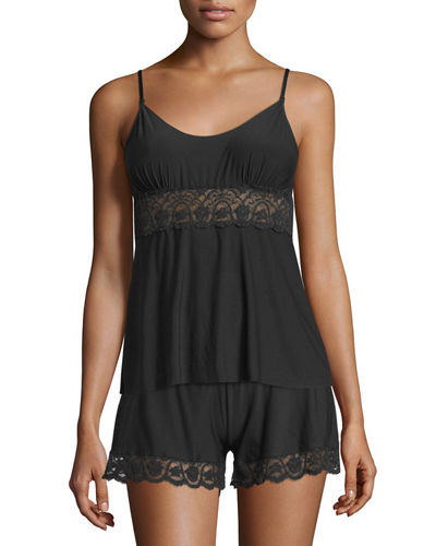 Commando Butter Lace-Panel Camisole