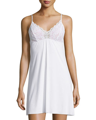 The Butter Lace-Trimmed Chemise