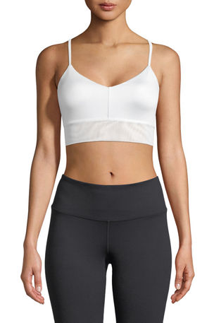 Alo Yoga Lush Strappy-Back Sports Bra
