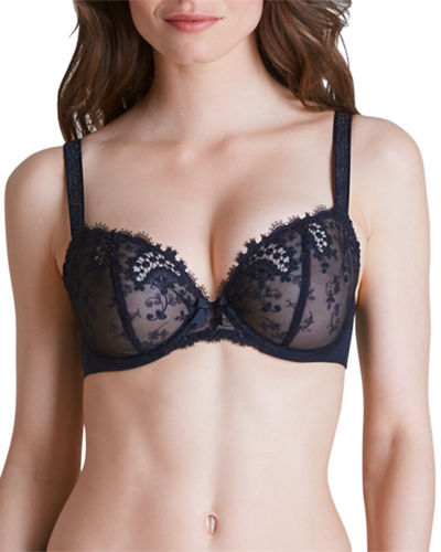 Wish Lace Demi Cup Full-Figure Bra