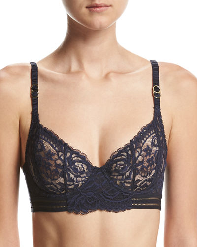 Isabel Floating Longline Underwire Bra