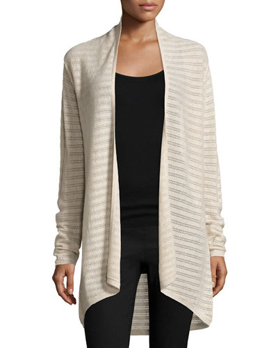 Artwell Textured Cashmere Cardigan