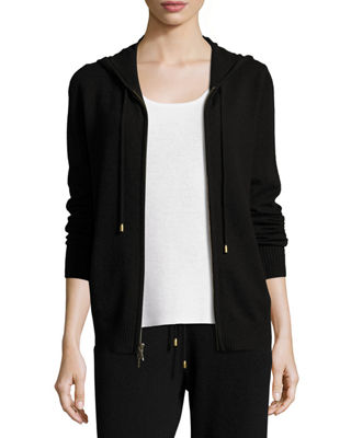 Cashmere Jogger Zip-Front Jacket Price