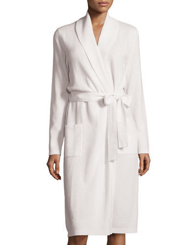 Long Modern Cashmere Robe