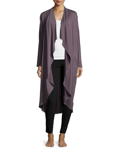 Marion Terry-Knit Long Drape Cardigan