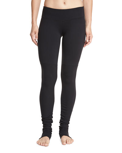 Alo Yoga Goddess Ribbed Sport Leggings
