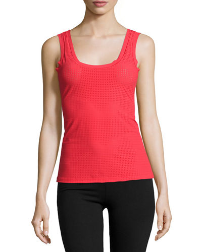 Active Perforated Tank Top