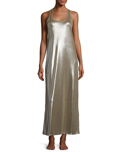 Metallic Tank Dress