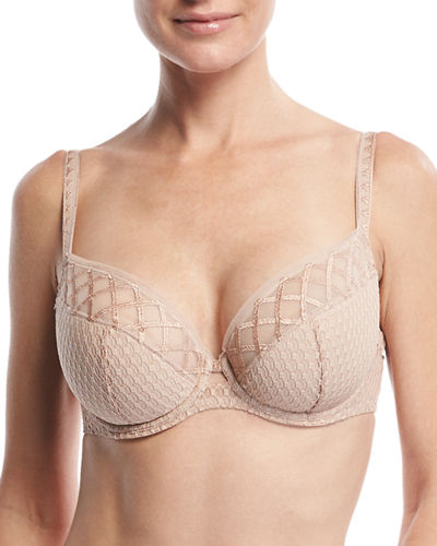 Sopi Padded Full-Figure Balconette Bra