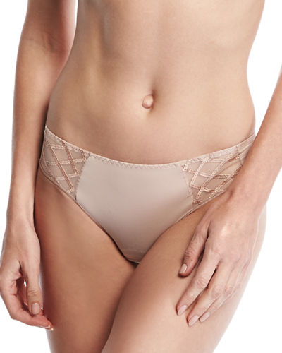 Sopi Lace-Trim Bikini Briefs