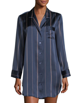 neiman marcus bedroom bath. dotprint silk sleepshirt neiman marcus bedroom bath