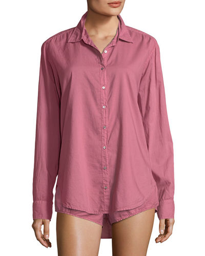 Pink Cotton Shirt | Neiman Marcus
