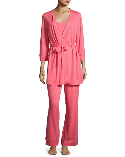 Bella Maternity 3-Piece Pajama Set