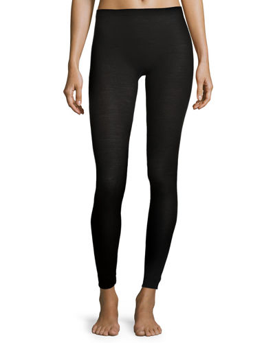 Zimmerli Pure Opulence Wool-Silk Thermal Leggings