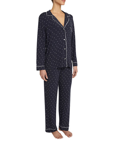 Sleep Chic Print Pajama Set, Boxed