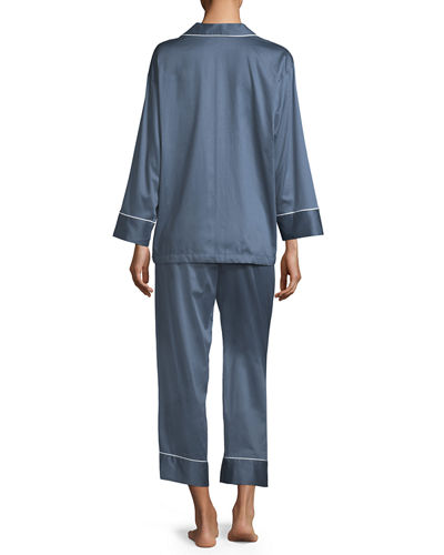 Cotton Sateen Pajama Set