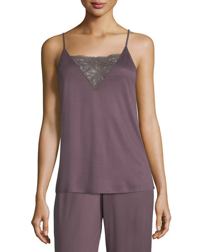 Camille Lace-Inset Camisole