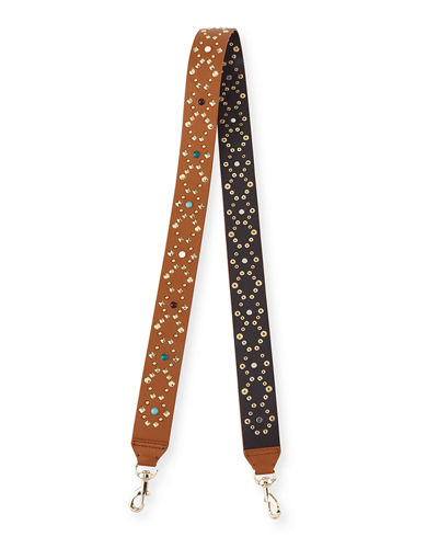 Multi-Stud Guitar Strap for Handbag