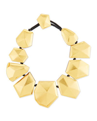 Faceted Foil Stardust Necklace