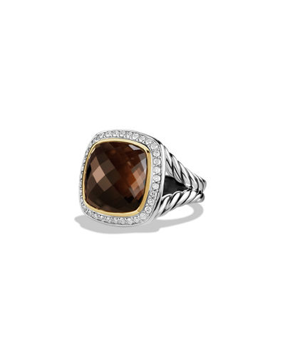 14mm New Albion Champagne Citrine Ring