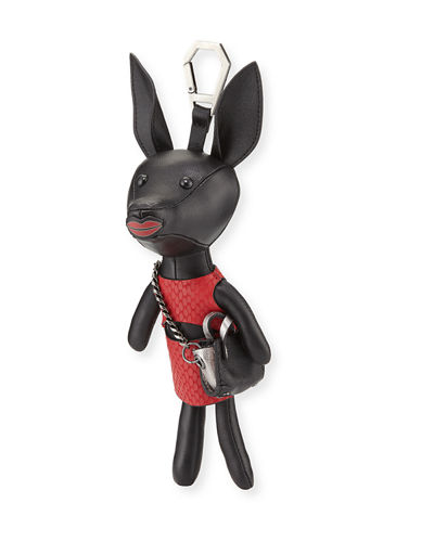 Kendall + Kylie Sophie Dog Charm for Handbag