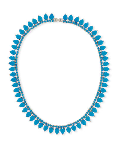 Monarch Pointed Choker Necklace