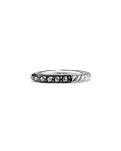 David Yurman 3mm Osetra Band Ring