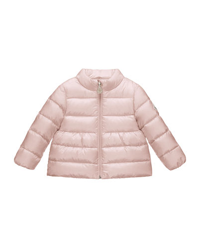 Joelle Collared Down Coat, Size 3 Months-3