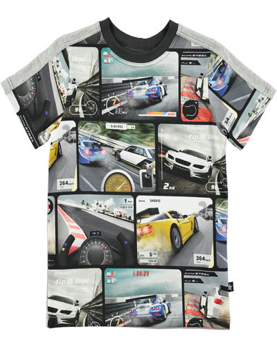 Rishi Short-Sleeve Graphic Jersey Tee, Size 4-12