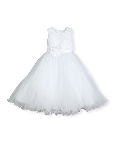 Joan Calabrese Sleeveless Satin & Tulle Special Occasion