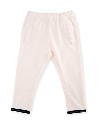 Cotton Jersey Sweatpants, Size 3-18 Months