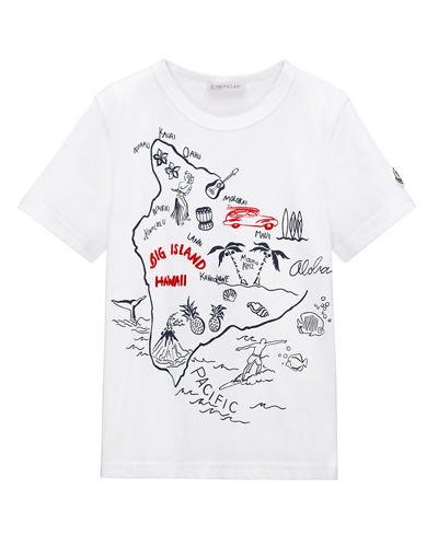 Big Island Hawaii Jersey Tee, Size 8-14