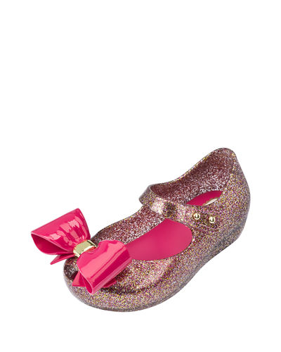 Glittered Mary Jane Flat, Toddler