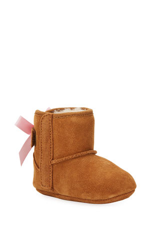 UGG Jesse Bow II Suede Bootie, Infant Sizes 0-12 Months