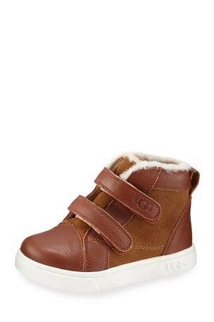 UGG Rennon II Suede & Leather Boots, Baby/Toddler