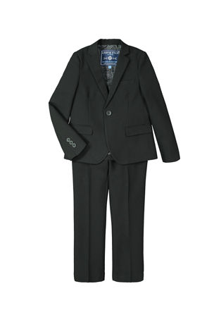 Andy & Evan Boy's Two-Piece Suit Set, Size 2-14