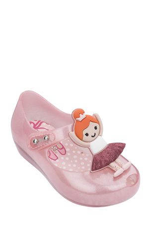 Mini Melissa Ultragirl Ballerina Mary Jane Flats, Baby/Toddler
