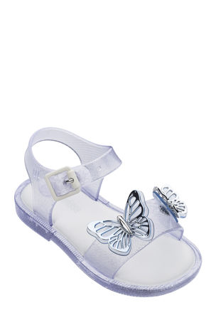 Mini Melissa Mar Butterflies Sandals, Baby/Toddler