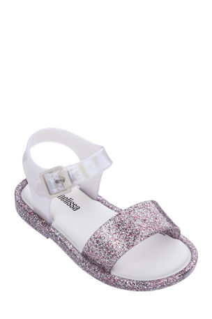 Mini Melissa Mar IV Glitter Sandals, Baby/Toddler